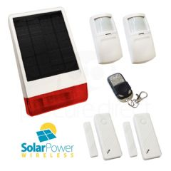 CastleGate Wireless Solar House Alarm Solution 3